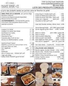 liste produits Madame Dupont 01-05-2020