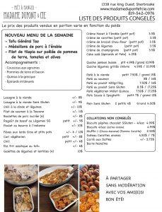 liste produits Madame Dupont 11-08-2020